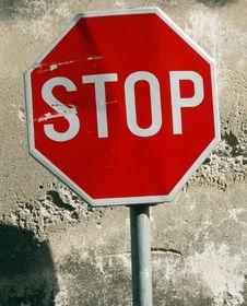 Free Stop 2 Royalty Free Stock Photos - 1268098