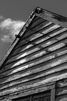 Free Old Building BW Stock Photos - 1268393