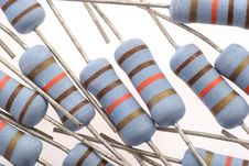 Free Resistors Royalty Free Stock Photo - 1268525