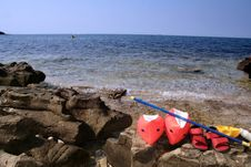 Free Beach Toys Royalty Free Stock Images - 1268569