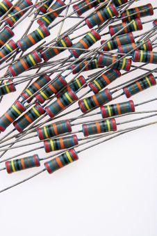 Free Resistors Stock Image - 1269131