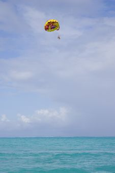 Free Para-Sailing Royalty Free Stock Photos - 1269578