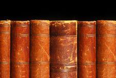 Free Antique Books Theme Royalty Free Stock Photo - 12608315