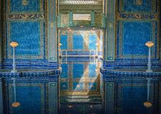 Free Blue, Wall, Architecture, Column Royalty Free Stock Image - 126019966