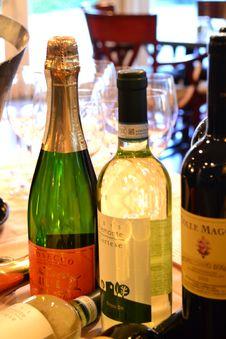Free Drink, Alcoholic Beverage, Wine, Bottle Stock Image - 126020751