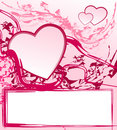 Free Abstract Valentine Frame Royalty Free Stock Photography - 12616417