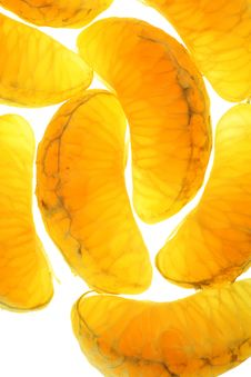 Free Gold Tangerin Macro Stock Images - 12614504