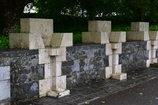 Free Wall, Cemetery, Grave, Stone Wall Royalty Free Stock Image - 126103616