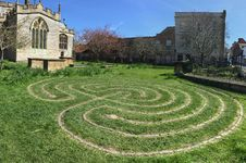 Free Grass, Labyrinth, Lawn, Garden Royalty Free Stock Images - 126103659