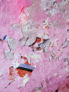 Free Close-up Photography Of Pink Painted Wall Stock Photography - 126176032