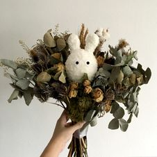 Free Dried Flower Bouquet Stock Photography - 126176522