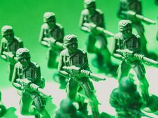 Free Toy Soldiers Macro Photo Royalty Free Stock Photo - 126176685
