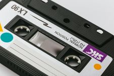 Free Skc Cassette Tape On White Surface Stock Images - 126176714