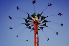 Free Ride At An Amusement Park Royalty Free Stock Photography - 126177157