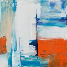 Free Abstract Painting Stock Image - 126177821