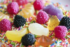 Free Candy Lot Stock Photography - 126178102
