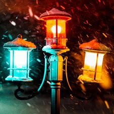 Free Close-Up Photography Of Street Lamps Stock Photography - 126178212
