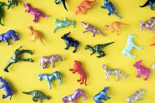 Free Assorted Plastic Toy Lot Royalty Free Stock Photos - 126179508