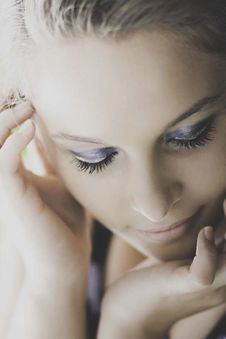 Free Macro Photography Of Woman S Face Royalty Free Stock Image - 126179526