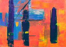 Free Abstract Painting Royalty Free Stock Photos - 126179598
