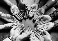 Free Grayscale Photography Of People Hand Stock Photography - 126181632