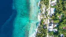 Free Bird S Eye View Of Beach Royalty Free Stock Photos - 126181758