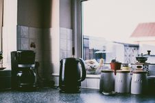Free Photograph Of A Kitchen Counter Royalty Free Stock Images - 126182629