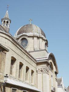 Free Old Church Under Blue Sky Stock Photos - 126182893