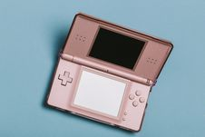 Free Gold Nintendo Ds Stock Photography - 126183462