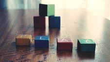 Free Conceptual Photo Of Word &x22;play&x22; Spelled By Wooden Blocks. Stock Photos - 126183473