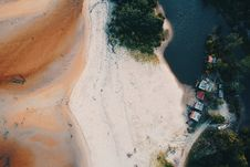 Free Bird S Eye View Of Island Stock Images - 126184024