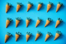 Free Flay Lay Photography Of Carrots Decor Royalty Free Stock Image - 126184206