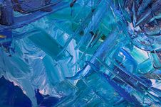 Free Blue Painting Royalty Free Stock Photography - 126184607