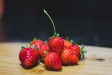 Free Shallow Focus Photography Of Red Strawberries Stock Image - 126185041