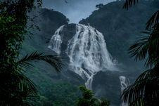 Free Photo Of Waterfall Under Dark Sky Stock Image - 126185561