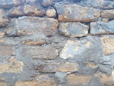 Free Rock, Stone Wall, Wall, Bedrock Stock Images - 126185874