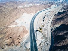 Free Birds Eye Photography Of Road Stock Photo - 126185880