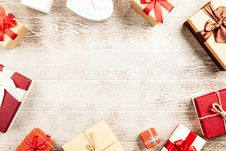 Free Flat-lay Photography Of Present Boxes Stock Photos - 126186253