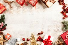 Free Christmas Board Decors Stock Images - 126186294