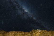 Free Milky Way Galaxy Stock Photography - 126186462
