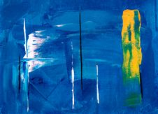 Free Abstract Painting Stock Image - 126186561