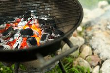 Free Shallow Focus Photography Of Burning Charcoals Stock Image - 126186701