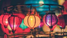 Free Shallow Focus Photography Of Lanterns Stock Photo - 126187180