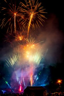Free Fireworks During Night Time Royalty Free Stock Photo - 126187955