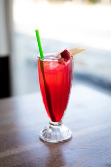 Free Drink With Straw Royalty Free Stock Photography - 126188207