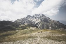 Free Green And Brown Mountain Under White Cloudy Sky Photo Stock Image - 126188361
