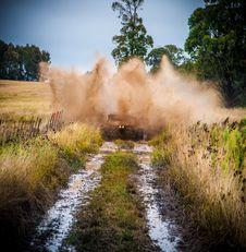 Free Brown Vehicle On Wet Soil Royalty Free Stock Photo - 126188555