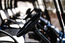 Free Selective Focus Photography Of Golf Cart Steering Wheel Royalty Free Stock Image - 126188586