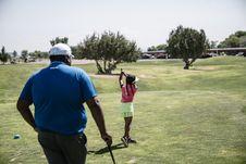 Free Girl Playing Golf Royalty Free Stock Photo - 126188695