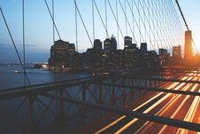 Free Person Taking Photo Of Suspension Bridge Stock Photo - 126188950